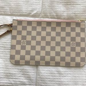 LV Authentic Pochette Damier Azur